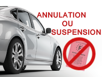Assurance auto annulation ou suspension