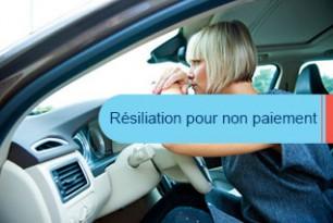 Quelle assurance auto : après résiliation pour non paiement ?